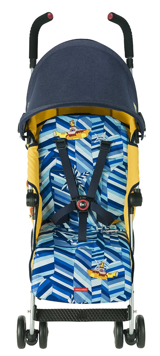 Maclaren Yellow Submarine Beatles Stroller Popsugar Family
