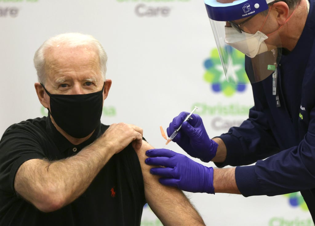 Joe Biden Received Second Dose of COVID-19 Vaccine