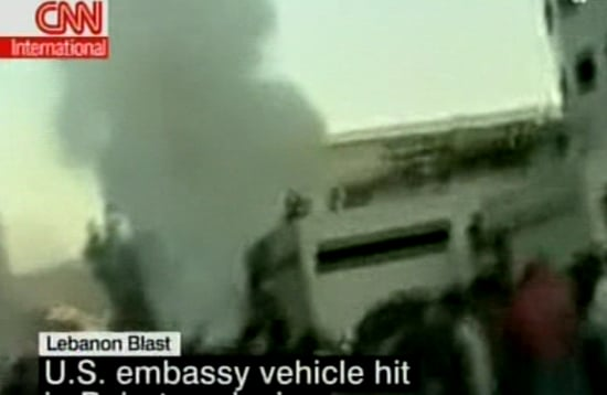 Headline: Explosion in Beirut Targets US Embassy