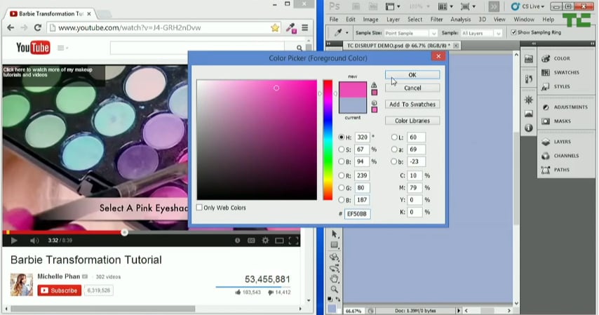 Open up Photoshop or ColorZilla, and use the color picker tool to find the hex code.