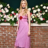 Martha Hunt at the Lily Aldridge Parfums Launch During New York Fashion Week