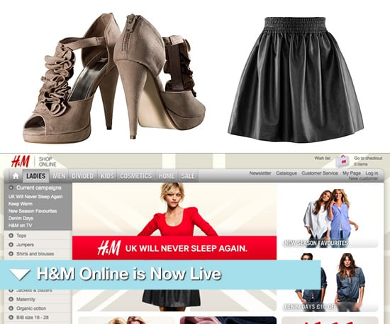 Shop H&M Online in the UK and Europe Now