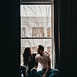 Romantic Loft Engagement Shoot