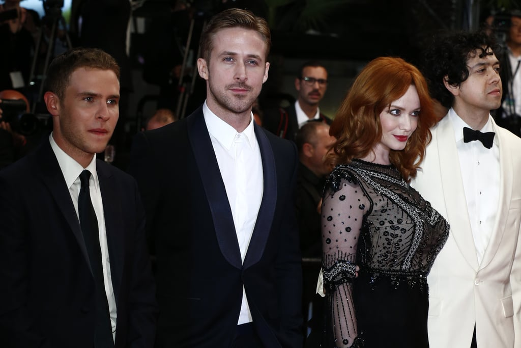 Cannes got a few degrees hotter on Tuesday when Ryan Gosling dropped into the French town to premiere his directorial debut, Lost City, at the Cannes Film Festival. The actor-turned-director attended a photocall and a red carpet premiere with the film's stars, marking his two only public appearances in nearly a year. He was joined at the famous photo-op by Christina Hendricks, who attended with her husband, Geoffrey Arend, and Matt Smith, both of whom star in the project. While Ryan has stepped back considerably from public life over the past few months, he has slowly been gearing up his press appearances as he works on promoting his films. Ryan most recently popped up in San Francisco where he attended that city's film festival to promote White Shadow, a documentary he produced.