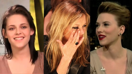 Kristen Stewart and Robert Pattinson Kissing, Kate Moss at London Fashion Week 2010, Tiger Woods Apology Video
