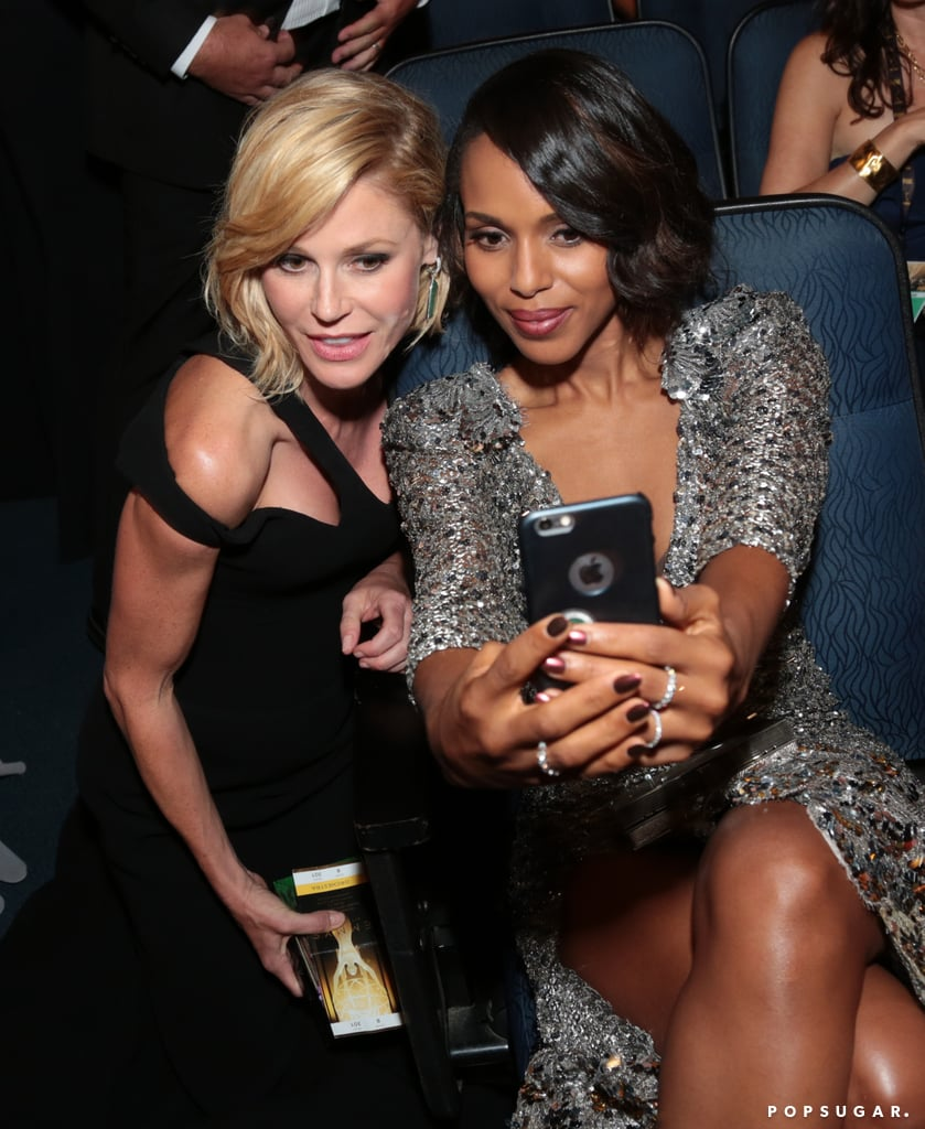 Julie Bowen and Kerry Washington