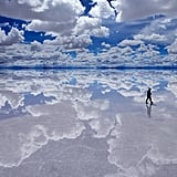 Literally Reflect at the World's Largest Salt Flat Salar de Uyuni in Bolivia