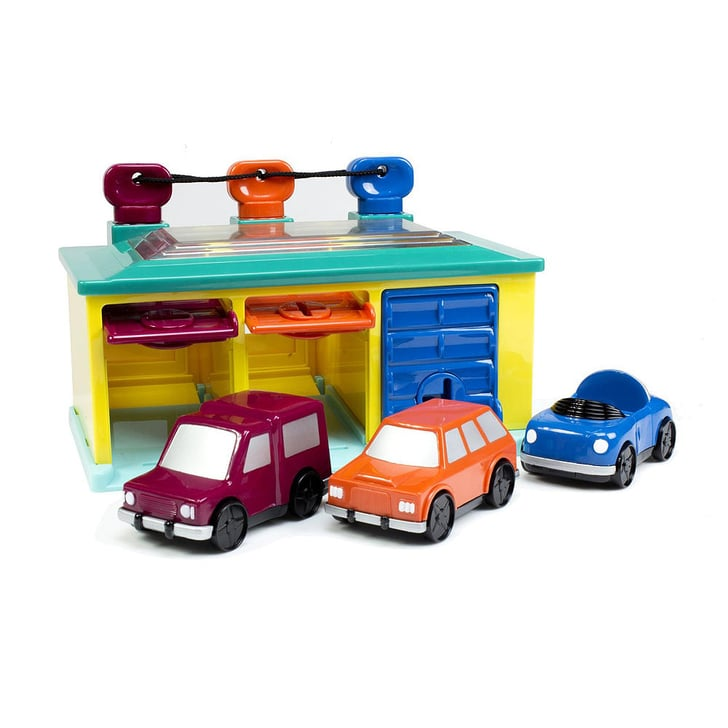 Toysmith Battat Lock And Key Garage Gift For Kids Ages 1