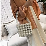 Z-synka Hand-Woven Pearl Bag