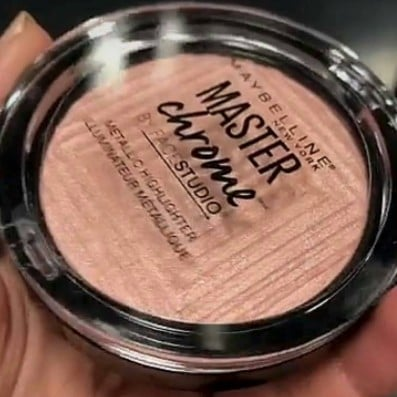 Maybelline Master Chrome Rose Gold Highlighter