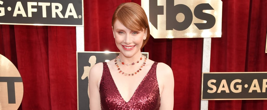 Bryce Dallas Howard Showed Up to the SAGs in a Dress You Can Buy Right Off the Rack