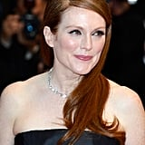 Julianne Moore is an iconic redhead in Hollywood with signature freckles to match.