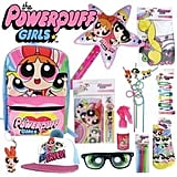 The Powerpuff Girls Showbag ($26) Includes:  Selfie prop  Stationery set  Glitter spray