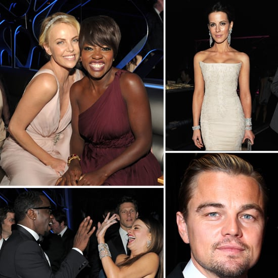 2012 Golden Globes InStyle After Party Celebrity Pictures Inside