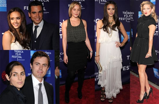 Pictures of Kate Hudson, Jessica Alba, Amanda Peet and Abbie Cornish at the 2010 Tribeca Film Festival