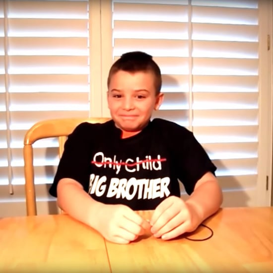 10-Year-Old Boy Finds Out Mom Is Having Twins