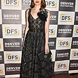 Emma Stone at the premiere of La La Land During the Denver Film Festival