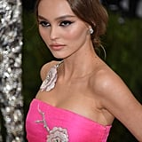 When We Spotted the Rose Embellishments on Lily-Rose Depp's Dress