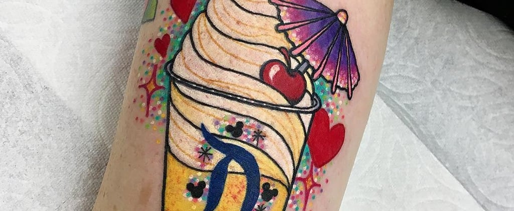 Disney Pineapple Whip Tattoos
