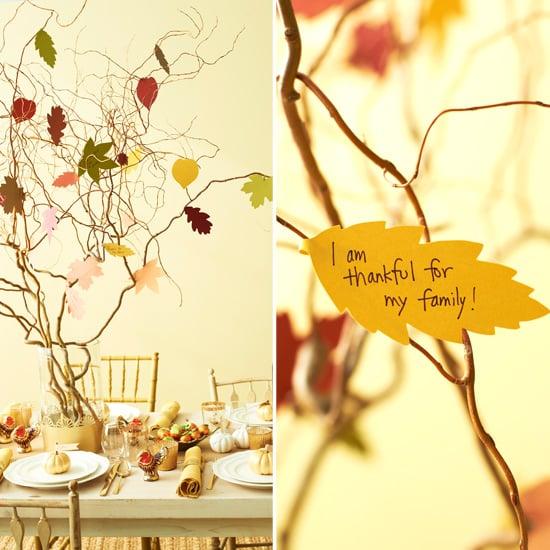 "Create a ""Thankful Tree"""