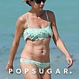 There's No Sign of April Showers in Miami For Minnie Driver