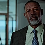 """As in all these kind of movies, there has to be a grizzled detective with a traumatic past in the mix, right? We meet Detective Frank Page (Dennis Haysbert), aka the owner of the buttery-smooth voice from the Allstate commercials, as he's buying a big teddy bear on the street (is that not where you buy your teddy bears?). He drives an epic, wood-paneled old car. And what do you know, he's assigned to Jennifer's case! Cue an intense one-on-one interview scene featuring Detective Frank and Russell. Despite having no idea what his wife was doing alone at a rest stop in the middle of a rainy evening all alone, he seems to have an answer for f*cking everything. Husband of the year, I guess. Plot twist: we learn that the teddy bear was actually for Frank's missing daughter, who disappeared at the age of 10. There are no leads in the case. I then cry for Frank. Poor guy. (FYI, this storyline ends here though, so don't expect any closure for him or you.)  Conveniently, dingbat Nurse Masters (Ashley Scott) tells Russell that his wife is awake without confirming that he is, in fact, HER HUSBAND . . . again. He's also informed by a doctor that she has essentially lost her memory. Russell proceeds to rip the line, """"Does my wife know who I am or not?,"""" to which the doctor replies a sombre """"no."""" If you didn't see where this was going before, you definitely should now."""