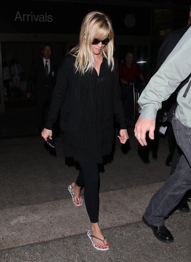 Reese Witherspoon landed at LAX.