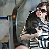 Rose McGowan and Her Boston Babe Take a Trip