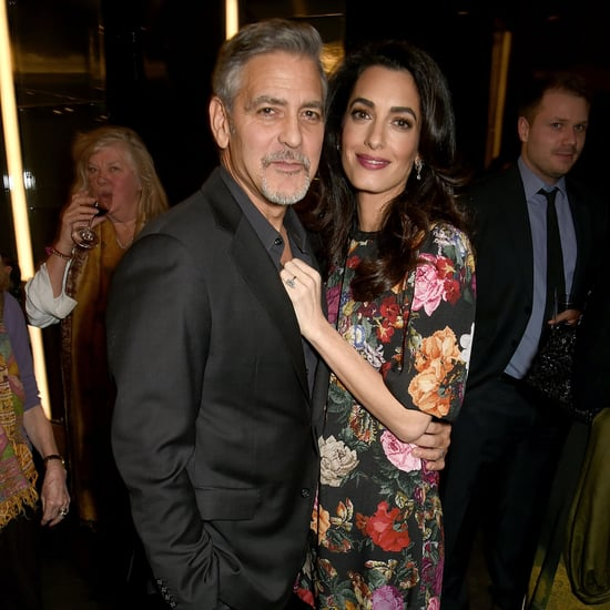 George and Amal Clooney at White Helmets Screening 2017