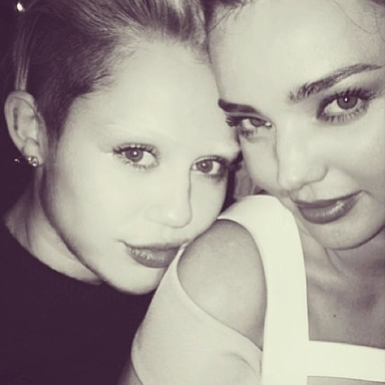 Miley Cyrus Picture With Bleached Eyebrows
