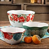 The Pioneer Woman Vintage Floral 3-Piece Nesting Bowl Set ($25)