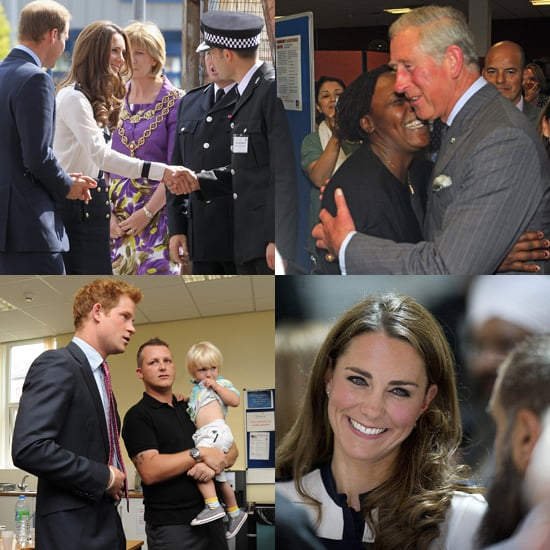 Britain's Royals Show Some Love For Riot Victims and Responders