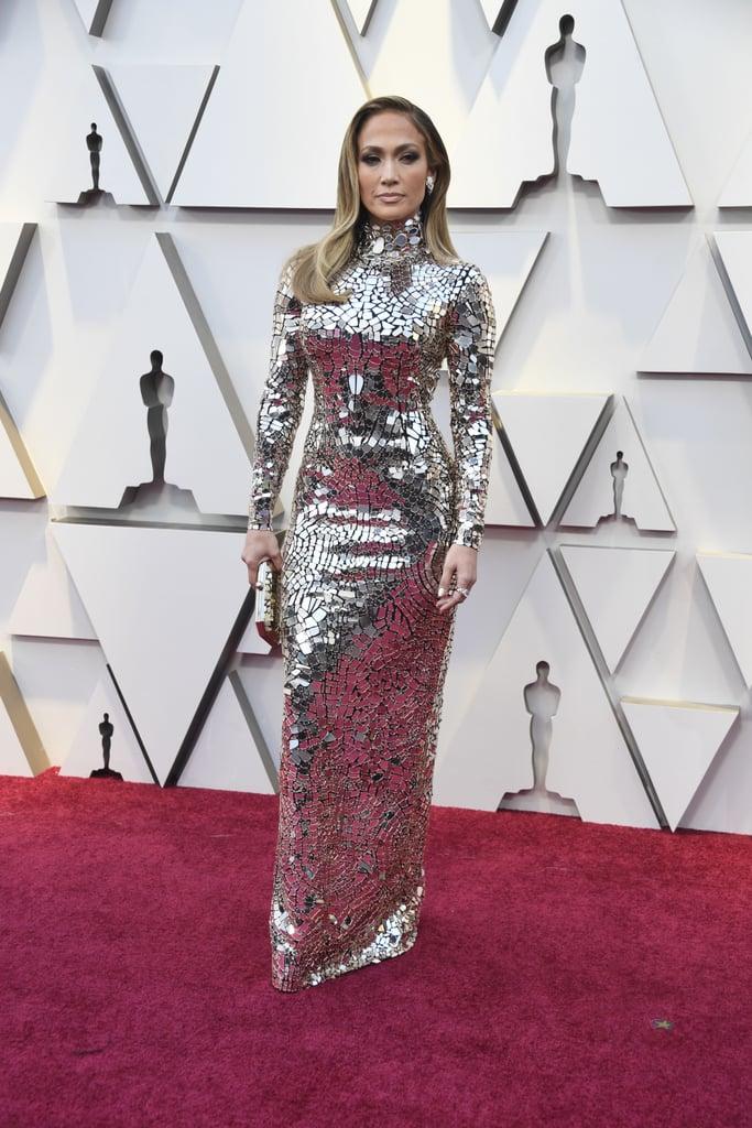 Jennifer Lopez Dress Oscars 2019 | POPSUGAR Fashion Photo 3