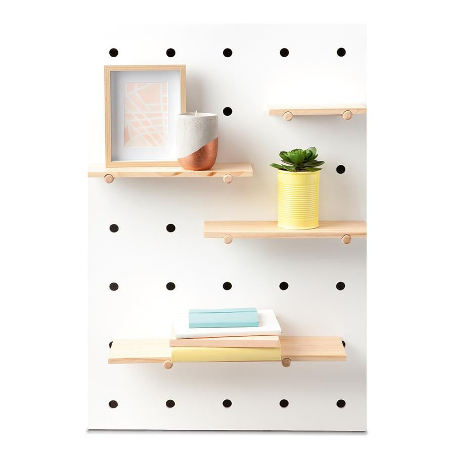 Kmart Pegboard With Wooden Shelves 29 New Home Decor Editor Must