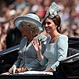 Camilla, Duchess of Cornwall, and Kate Middleton