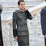 Quand Elle Ne Sait Pas Quoi Se Mettre, Elle Opte Pour un Ensemble Chanel en Tweed