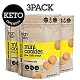 HighKey Snacks Keto Mini Snickerdoodle Cookies