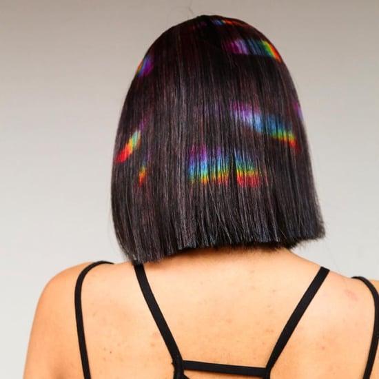 Rainbow Reflection Hair Trend