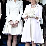 Kate at the Order of the Garter Service in 2011