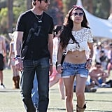 Dylan McDermott spent the weekend with his girlfriend Shasi Wells.