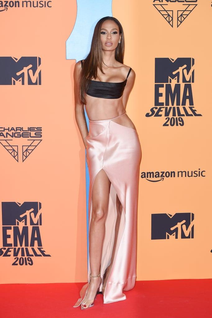Joan Smalls at the 2019 MTV EMAs