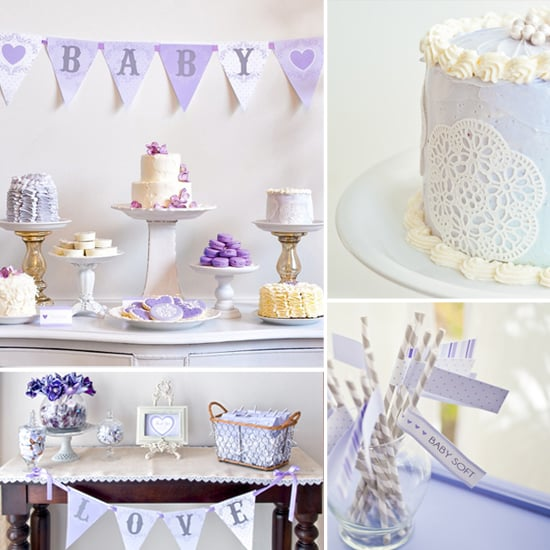 "A Lovely Lavender ""Baby Love"" Shower"