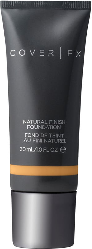 Cover FX Natural Finish Foundation ($40) comes in 40 shades.