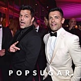 Pictured: Ricky Martin and Mark Consuelos
