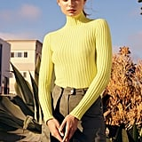 UO Ronnie Ribbed Knit Turtleneck Sweater