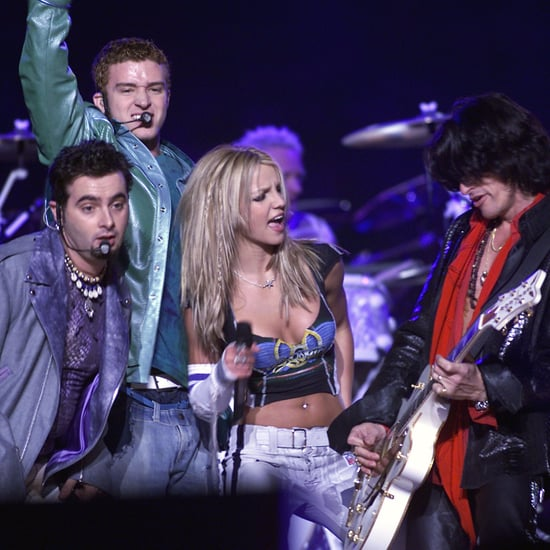 NSYNC, Britney Spears, and Aerosmith Super Bowl Performance