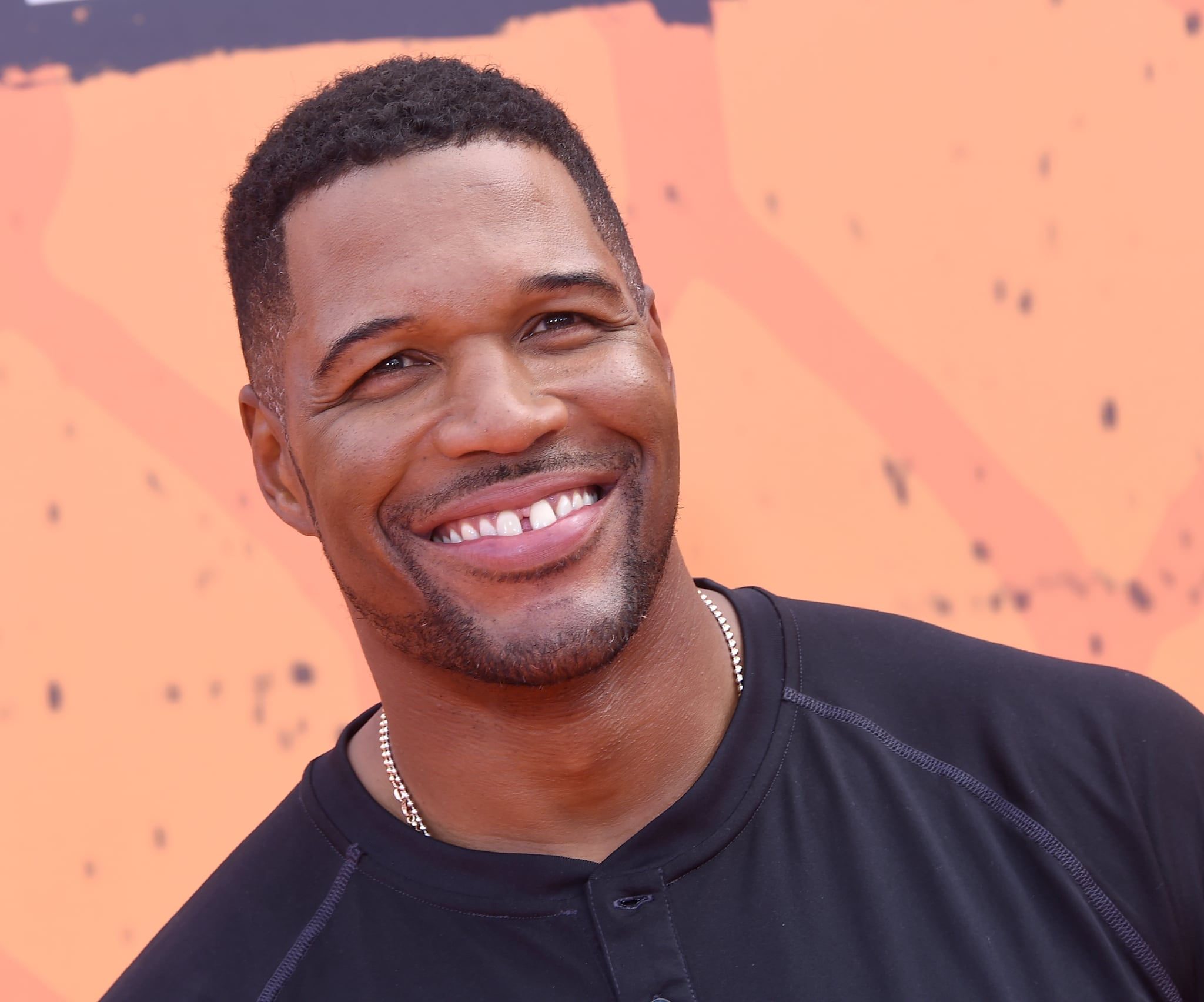 WESTWOOD, CA - JULY 14:  Michael Strahan arrives at Nickelodeon Kids' Choice Sports Awards 2016 at UCLA's Pauley Pavilion on July 14, 2016 in Westwood, California.  (Photo by Gregg DeGuire/WireImage)