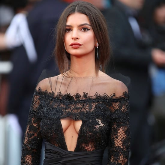 Emily Ratajkowski's Peter Dundas Dress at Cannes 2017