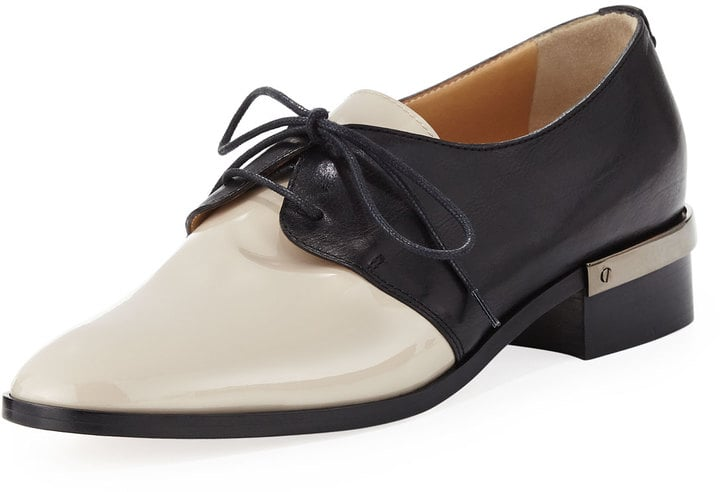 Reed Krakoff Bicolor Lace-Up Oxford