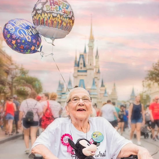 Woman Celebrates 100th Birthday at Disney World
